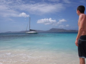 Magic Badger at anchor - Petit St.Vincent