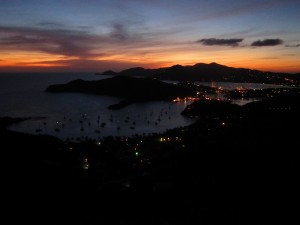 Galleon Bay from Shirley Heights - Antigua