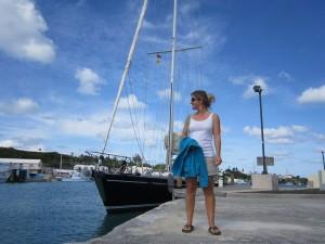 Arrival in Bermuda