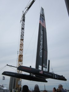 Oracle AC45 Catamaran - Newport, RI