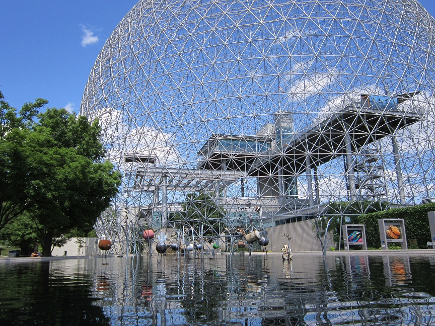 The Biosphere - Still looks cool