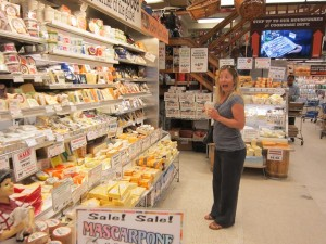 Zabar's, Rachel can't believe her eyes!