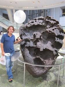 Willamette Meteorite, Natural History Museum
