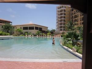 Porto Cupecoy pool, St. Maarten