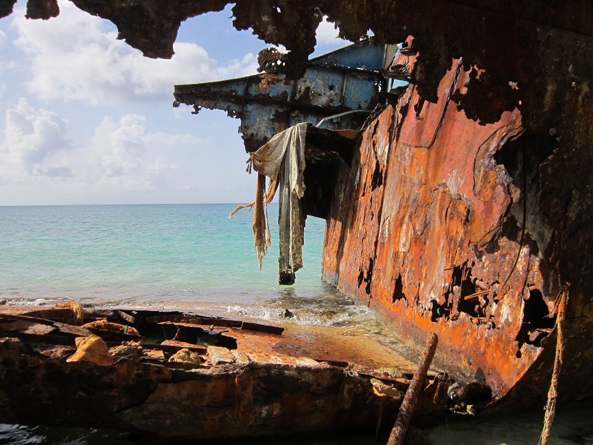 Shipwreck - Road Bay, Anguilla